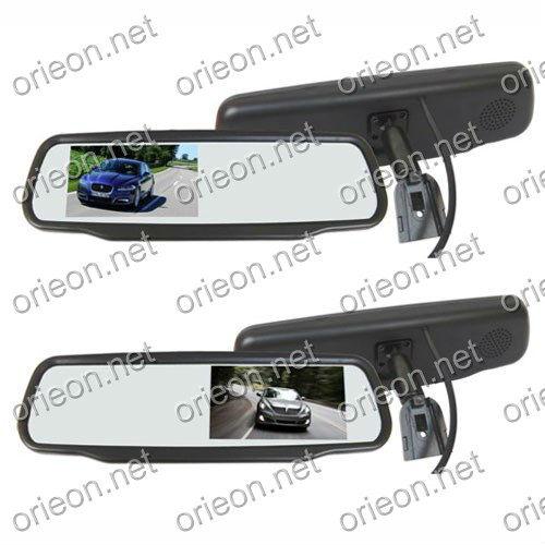 "Hot selling 1pc/lot Dropshipping 4.3"" TFT-LCD Screen Special Rear View Mirror Car Monitor,12V Auto Monitor (OE431MS)(China (Mainland))"