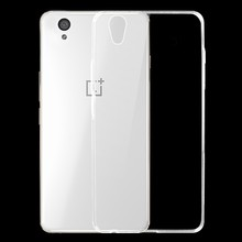 "Buy OnePlus X Case Cover 5.0""inch 0.6mm Ultrathin Transparent TPU Soft Cover Protective Case OnePlus X / One Plus X Cover Case for $1.07 in AliExpress store"