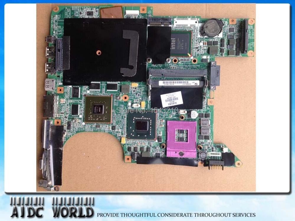 Laptop Motherboard FOR HP Pavilion dv9000 DV9700 /W NVIDIA VGA 447983-001 ,8 video memory!100% tested good(China (Mainland))