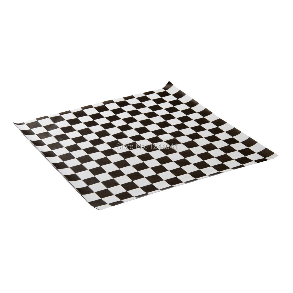 Checkered Wrapping Paper Sandwich Wrapping Paper