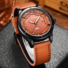 Buy New 2017 Sport Quartz Watch Men Top Brand Luxury Famous Fashion Leather Wrist Watch Male Clock Men Hodinky Relogio Masculino for $15.99 in AliExpress store