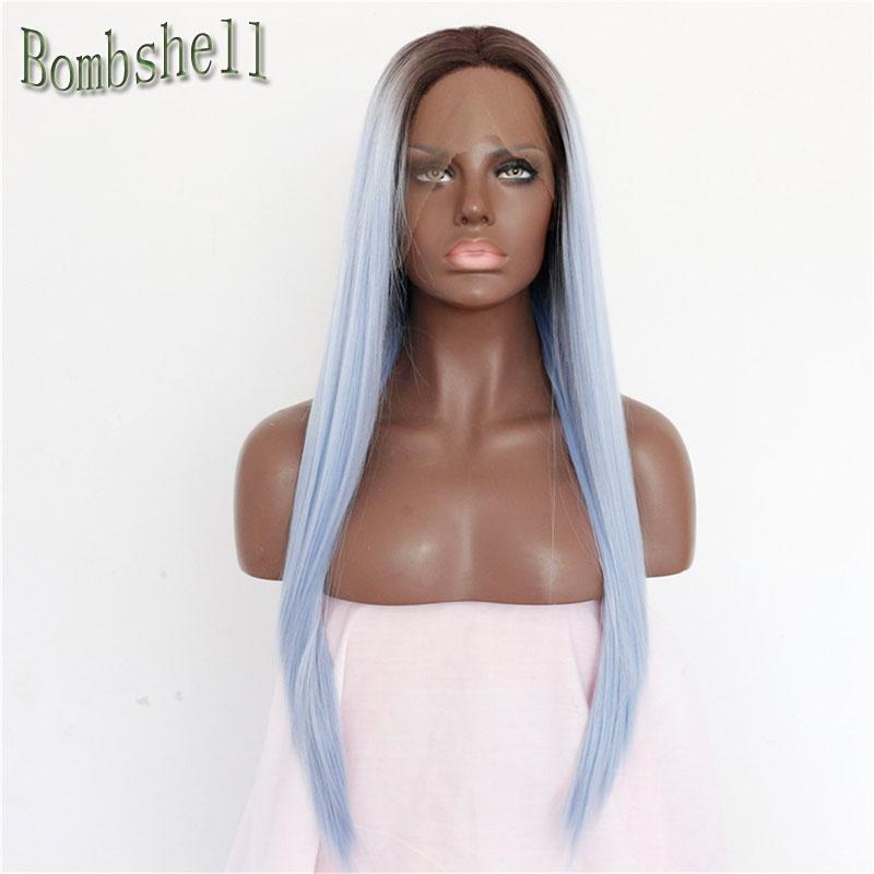Achetez en Gros Bleu noir couleur des cheveux en Ligne à