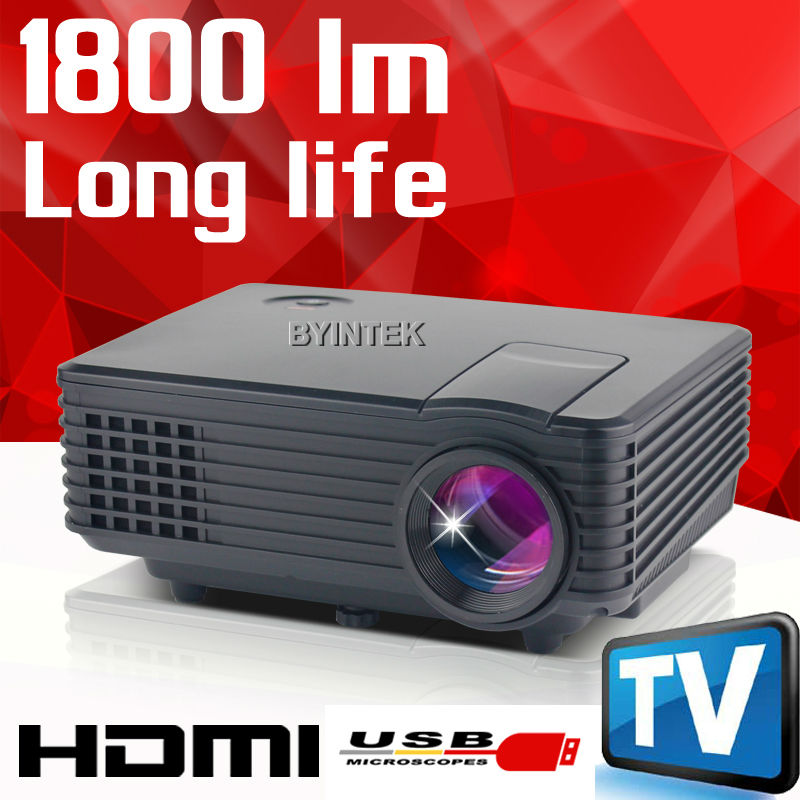 2016 Best New HD 1080P Video tv LCD Digital HDMI USB Home Theater mini LED Portable piCO Projector Projektor Proyector Beamer(China (Mainland))