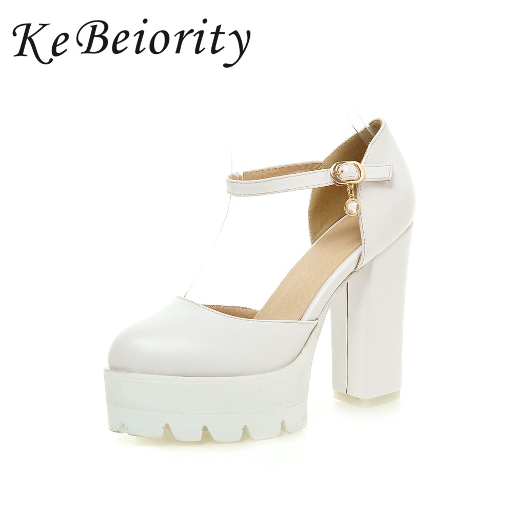 Size 12 Strap High Heel White Promotion Shop for Promotional Size