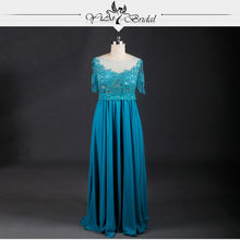RSE633 Half Sleeve Mother Of The Bride Lace Dresses Formal Dresses For Weddings(China (Mainland))