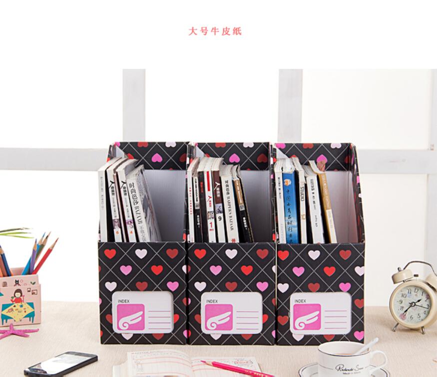 Подставки и Органайзеры для канцелярии Magazine Storage Products 14*25*31cm органайзеры и сумки