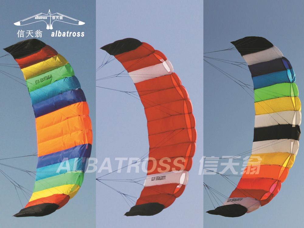TO RUSSIA AND EUROPE CHINESE 2.6M POWER KITE DUAL LINES TRAINER SURFING/SURF KITE/WHOLESALE PRICE/HOT SALE(China (Mainland))