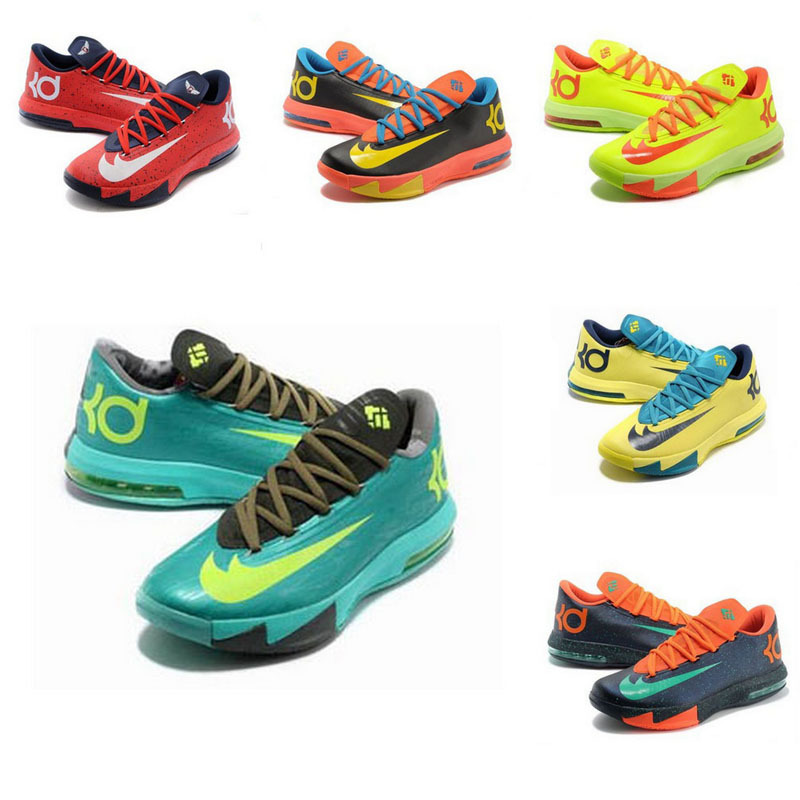 kd 6 basketball shoes