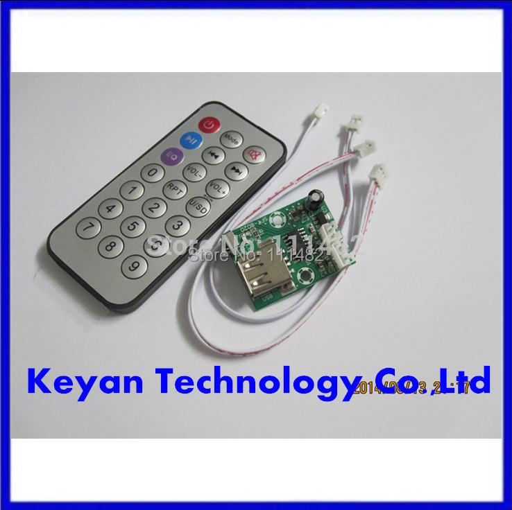 mini micro Lossless music decoder WAV+MP3 Decoding board 12V Audio player USB sound card MP3 board + remote control(China (Mainland))