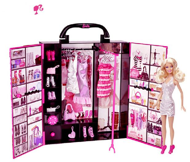 Sweet dolls Princess Dream Fashion Doll House Set wardrobe Gift for girl(China (Mainland))