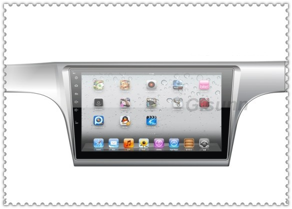 10.1 inch big full touch capative screen pure Android 4.2.2 car pc car computer pad for VW NEW LAVIDA(China (Mainland))