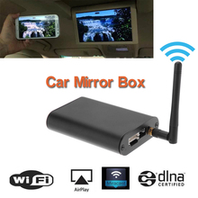 Miracast DLNA Car Airplay Wi-Fi Mirror Box Universal for any Car Audio Car Smart Screen Mirroring Wi-Fi Mirror Box(China (Mainland))