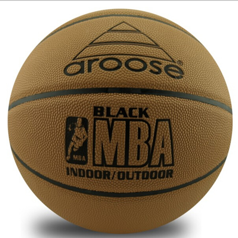 Cow Genuine Leather Brand Basketball Ball American Official Authentic Absorbent Slip Outdoor Basektball Ball Size 7(China (Mainland))