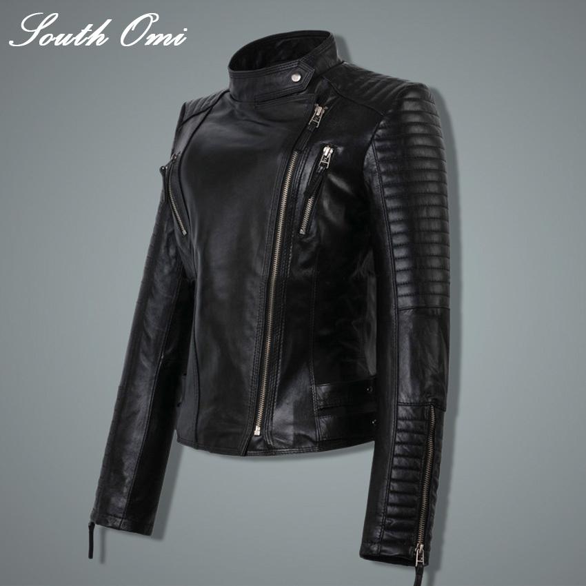 2015 новинка осень зима женщины марка искусственного мягкой кожи куртки пу черный пиджак молнии пальто мотоцикл верхняя одежда и заклепки