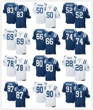 2016 new stitched Women Lady Indianapolis Colts ,#12 Andrew Luck,T.Y. Hilton,Andre Johnson,Pat McAfee,Coby Fleener,Frank Gore(China (Mainland))