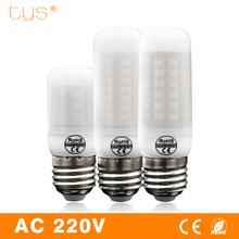 Buy Bombillas LED Lamp E27 220v Milky Cover Lampada Led Bulb corn light 24 30 38 48 56 69LEDs SMD 5730 Lamparas led spotlight Lampe for $1.39 in AliExpress store