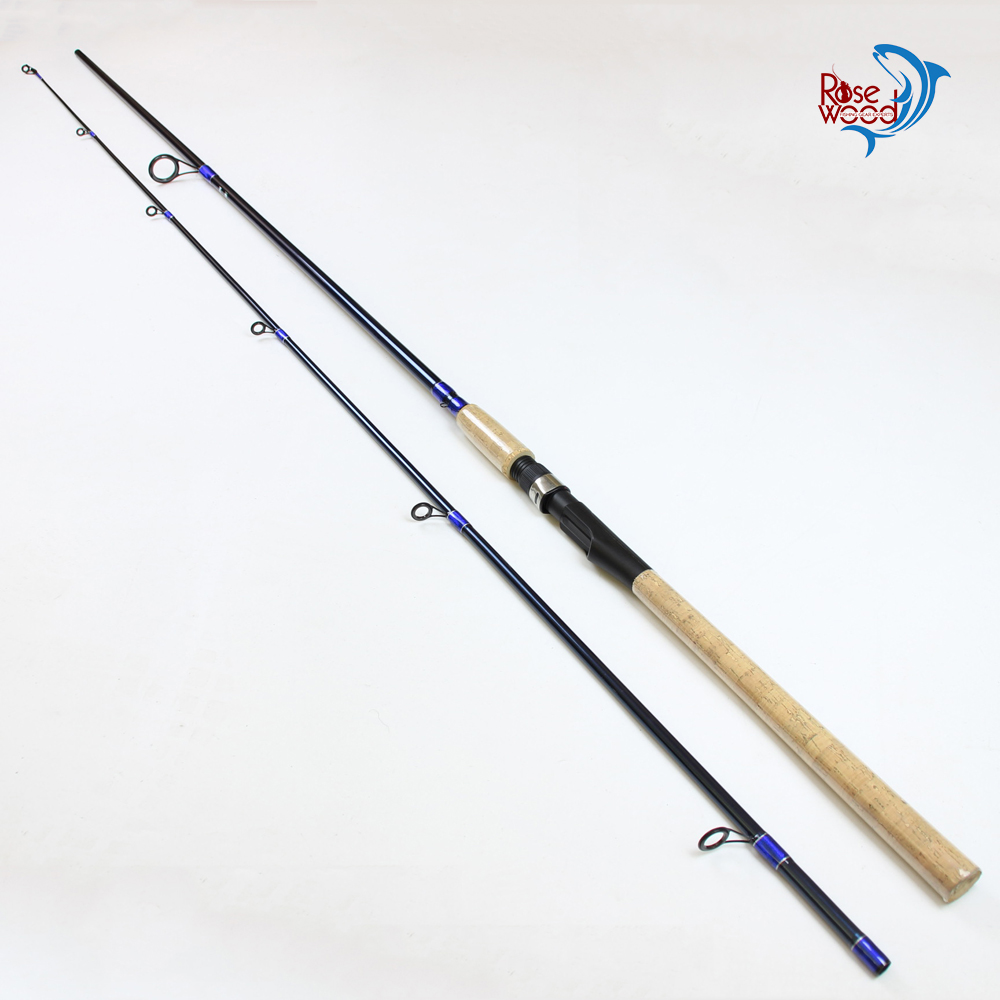 2.4m 2.7m fishing rod sea bass carbon spinning fishing pole carp vara de pesca de fibra de carbono canne a peche china tackle