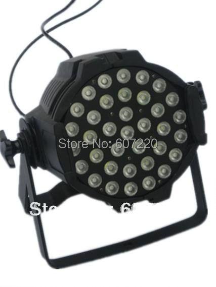(6 pieces/lot) LED Par can par64 with 36pcs 3w RGB led Lamp led stage lighting LED par 64 Cast Aluminium(China (Mainland))