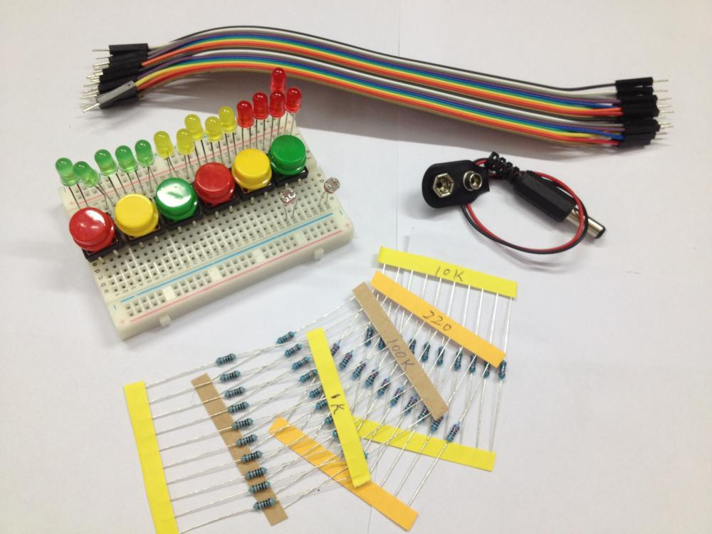 New starter kit uno r without arduino board mini