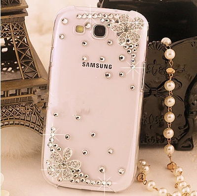 Gleaming Iphone 4 4s Case Bling Swarovski Crystal 5 5s Samsung Galaxy