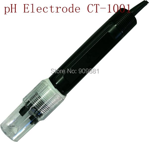 Фотография CT-1001PH Electrode 0-80C PH Range:0-14 High Accuracy PH Electrode ( ph sensor)For PTFE Liquid Interface Clogging Free Shipping