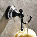 Free Shipping Wholesale And Retail Good quality Bathroom Towel Bath Ball Hooks Wall Mounted Oil Rubbed