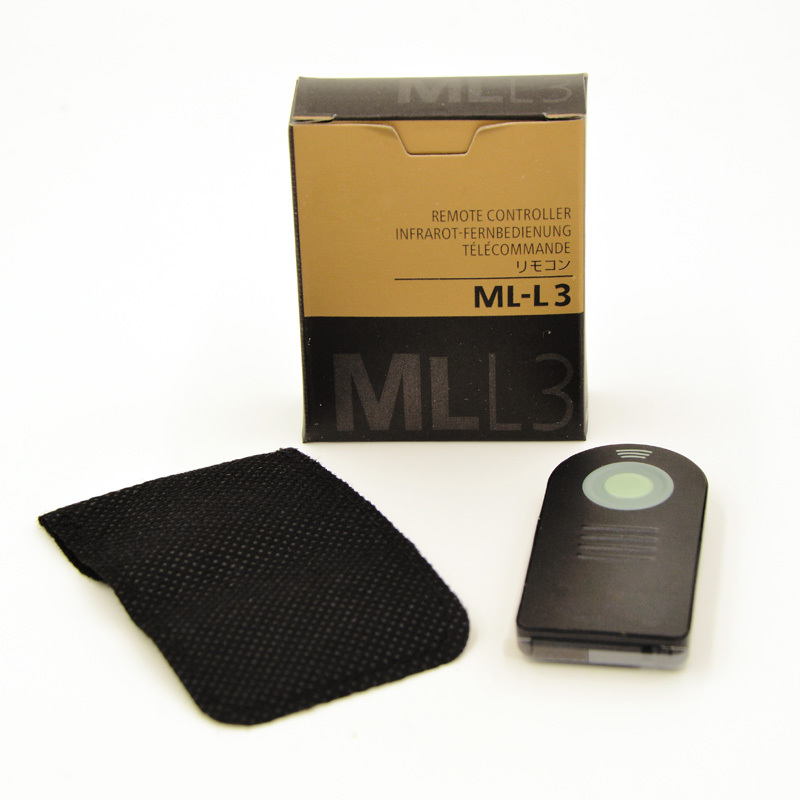 ML-L3 MLL3 Infrared Remote Control for Nikon D40 D50 D60 D70 D80 D90 D3200 D5100 D5200 D7100 D7000 J1 V1 ML L3(China (Mainland))