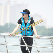 2016 New Life Jacket Genuine Professional Men And Buoyant Vests Multifunctional Fishing Suit Adult Swim Snorkeling Vest Jacket (China (Mainland))