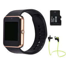 LEMFO GT08 Smart watch Clock Support Sim TF Card Bluetooth for Apple Ios Iphone Android Phone Smartwatch Watch