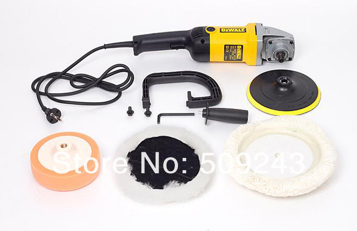 1PCS NEW 220V 1050W Professional Electric Specimen polisher Car Polisher Sander Car waxer Fast shipping(China (Mainland))
