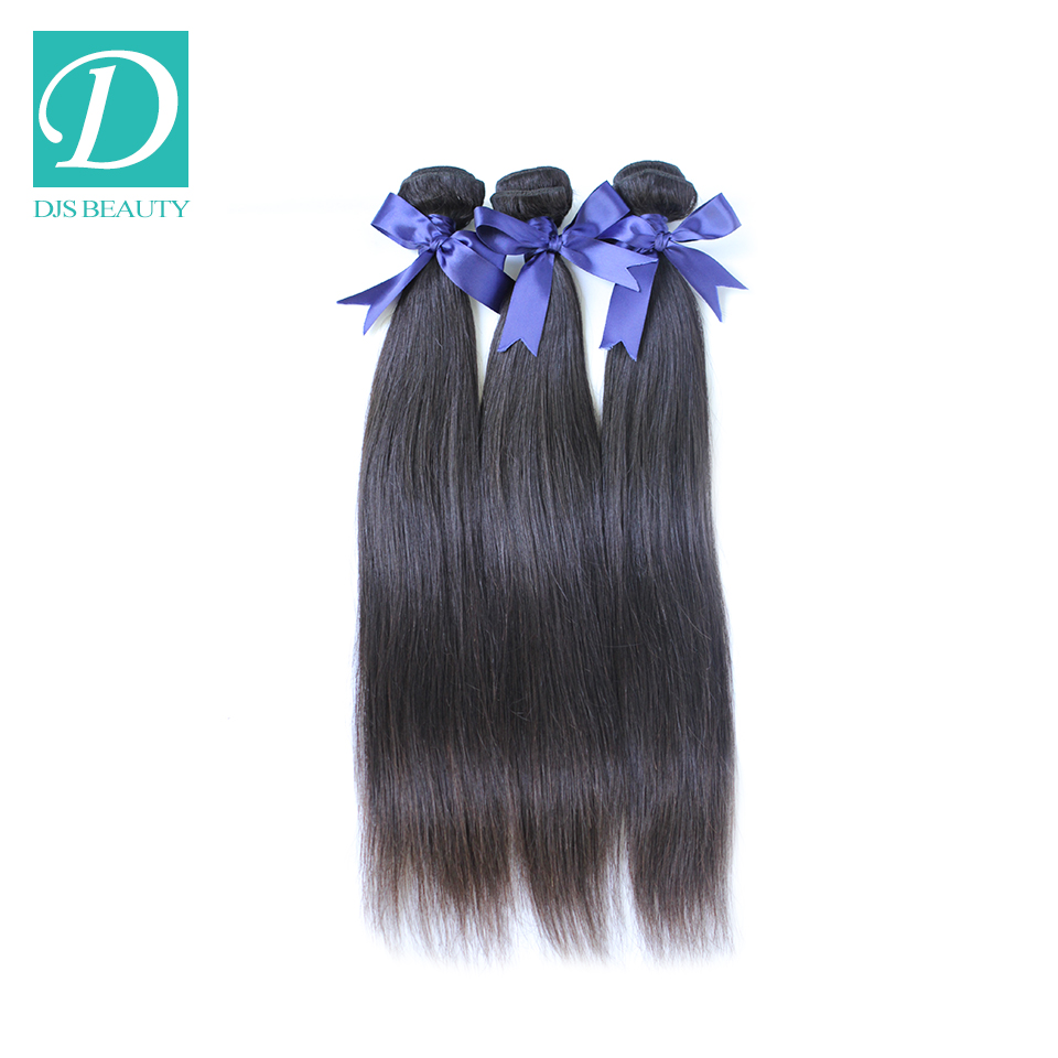 Malaysian Virgin Hair Straight Human Weaves Factory Outlet Price 8 inch-24 inch Stock DHL - DJS Beauty Products Co.,Ltd store