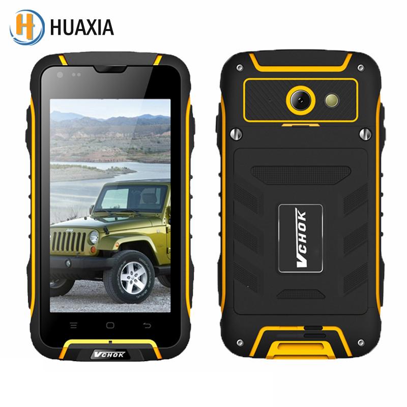 Original VCHOK F6 Waterproof Phone Quad Core WCDMA 3G GPS 4.5 inch 1GB+8GB MTK6582 Dustproof Shockproof Outdoor Mobile Phone(China (Mainland))