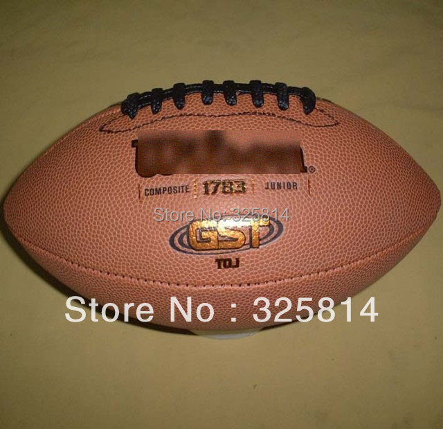 Free shipping Professional #7 high quality School students, children american football,rugby ball,rugger with pump