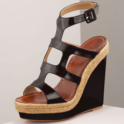 2015 New Classy Trendy Women Sandal Woman Sandalias Open Toe Style Wedges Sandals Summer Shoes Hollow Out Decor(China (Mainland))