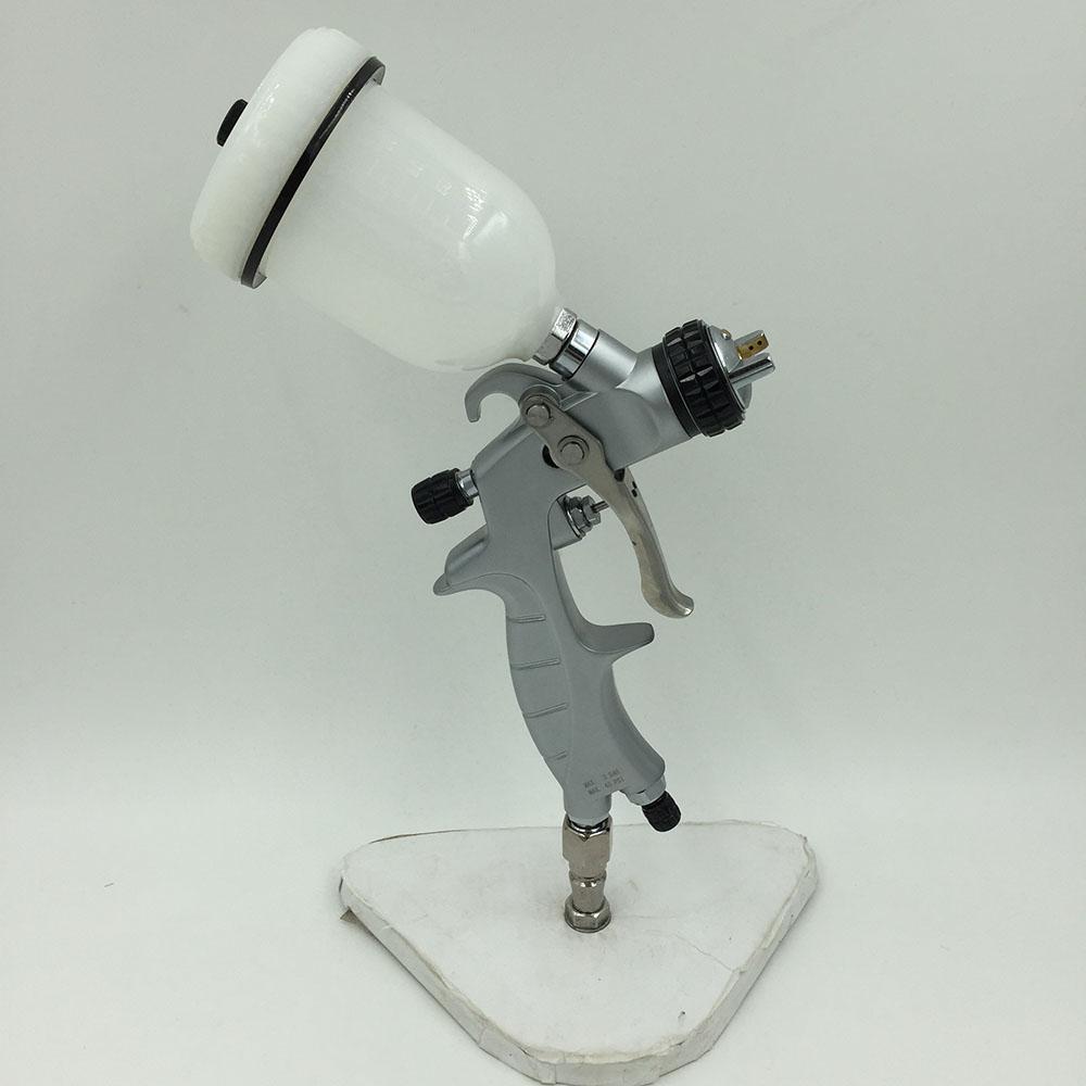 SAT1216 hvlp spray gun 1.0mm high pressure air mini spraying gun and tank<br><br>Aliexpress