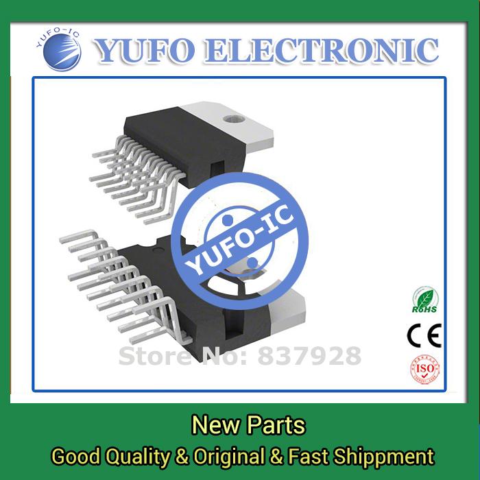 Free Shipping 10PCS TDA7496 genuine authentic [IC AMP PWR AB 5 + 5W MULTIWATT15]  (YF1115D)