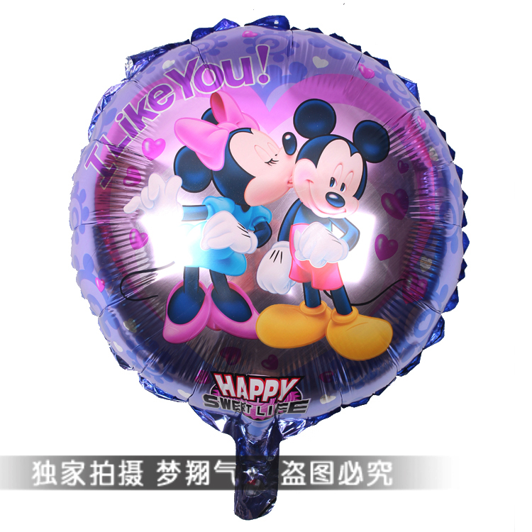 Free shipping18inch Mickey Mouse foil balloon party decoration foil balloon hot air balloon<br><br>Aliexpress