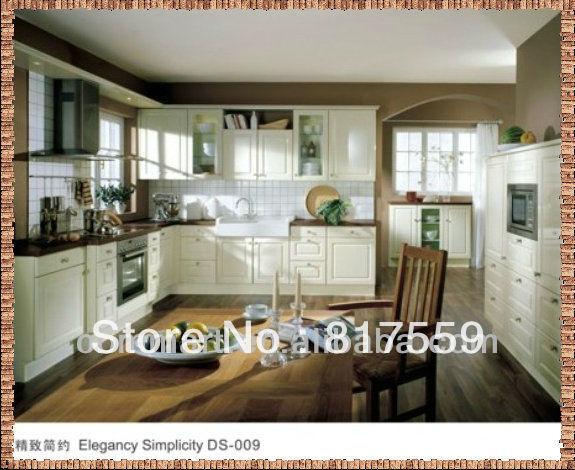 luxury kitchen cabinets modern cupboard 0410(China (Mainland))