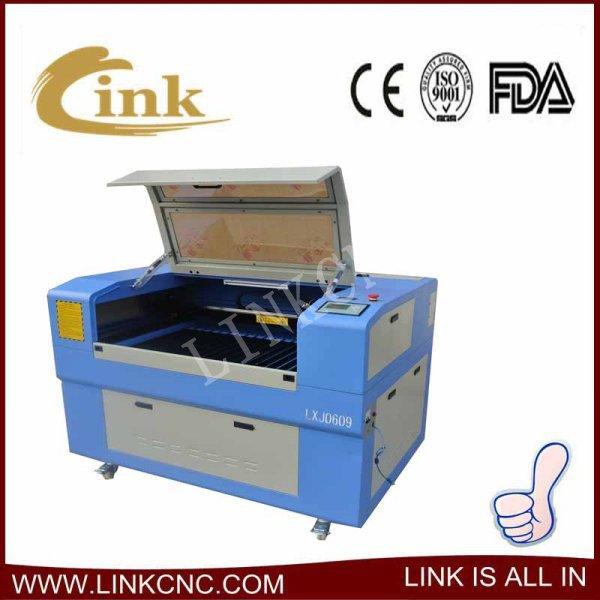 Fast speed LINK laser machine 9060(80w RECI laser tube)/laser machine cut(China (Mainland))