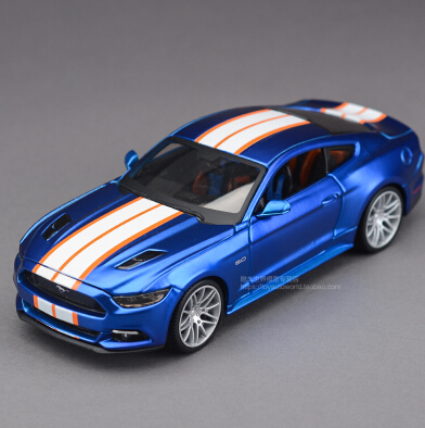 2015 New Ford Mustang Need for Speed 1:24 Maisto car model alloy metal diecast Harley modification kid toy collection boy gift(China (Mainland))
