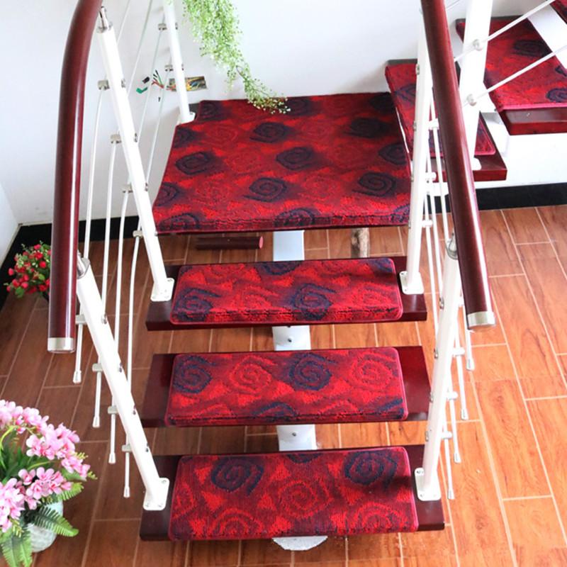 Promoci n de alfombra para escaleras de madera compra - Alfombra para escalera ...