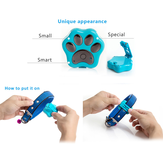 Waterproof Ip66 Anti-lost Wifi GPS Pet Tracker Collar Attachment Safety Alarm for Dog Cat Rf-v30  P20