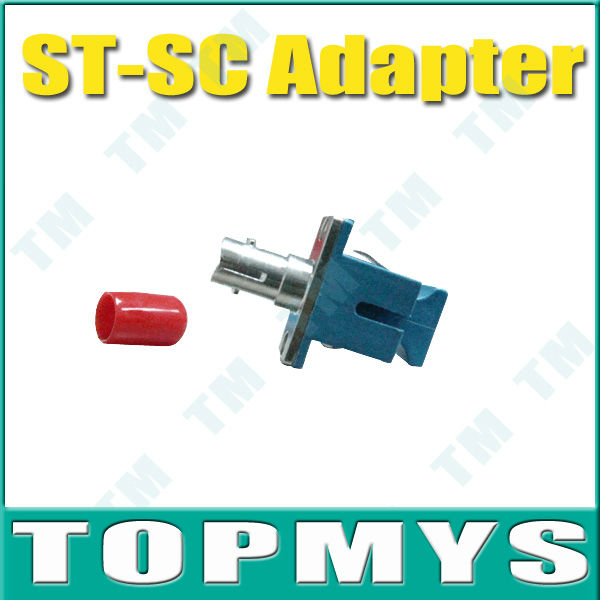 Free Shipping,Wholesaler,50 piece/ lot,SC-ST fiber optic Adapter,ceramic sleeve,Singlemode,Simplex<br><br>Aliexpress
