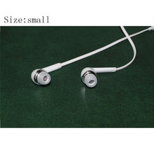 Free Shipping 10 Pairs White Small Size Replacement Silicone EARBUD Tips for Skullcandy Sony Bluetooth LG