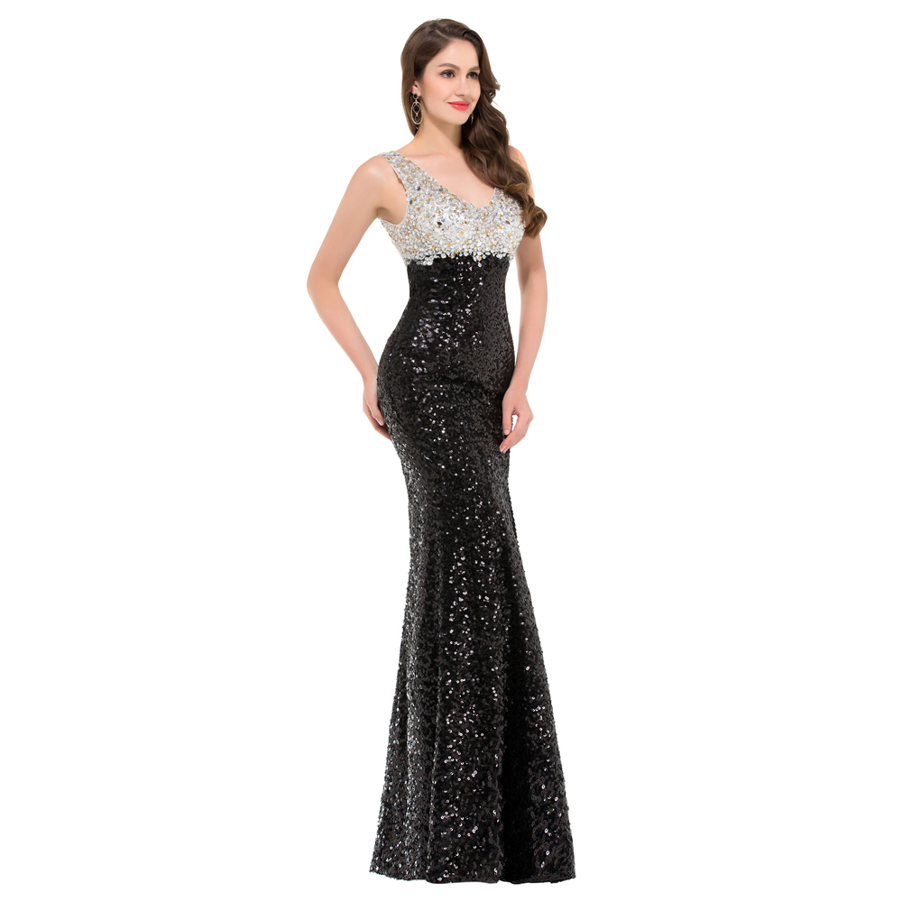 Aliexpress Com Buy Grace Karin Sparkle Elegant Black