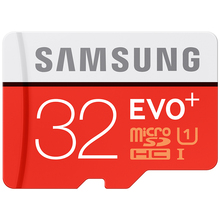 SAMSUNG Memory Card 32G SDHC SDXC TF80M Grade EVO+ MicroSD Class 10 Micro SD C10 UHS TF Trans Flash 32 GB Free Shipping(China (Mainland))