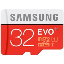 SAMSUNG Memory Card 32G SDHC SDXC TF80M Grade EVO+ MicroSD Class 10 Micro SD C10 UHS TF Trans Flash 32 GB Free Shipping(China (Mainland))