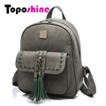Toposhine 2017 Retro Panelled Women Backpacks Fashion PU Leather Lady Backpacks Girls Backpacks Popular Cute School Bags 1741