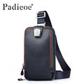 Men leather chest bag Casual crossbody bag Men s clutch bag high quality chest waist pack