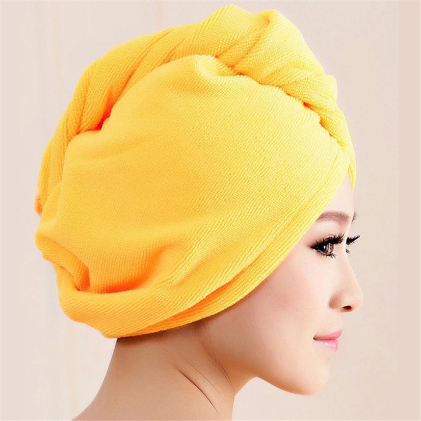 Hot marking Microfiber Bath Towel Hair Dry Hat Cap Quick Drying Lady Bath Tool M25(China (Mainland))